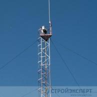 Расчет конструкций мачтовой опоры для антенн и устройств сотовой и радиотелефонной связи