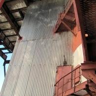 Обследование пристройки шахты элеваторов цеха карбамида, корп. 815