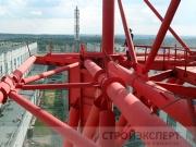 Экспертиза промышленной безопасности вытяжной трубы корп. 502 высотой 180 метров